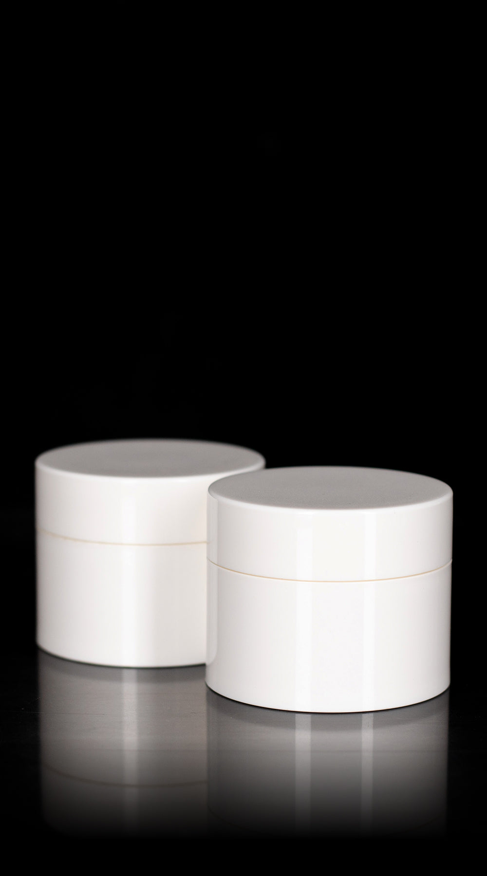 Pure 30 ML PP Airless Jar with White Cap