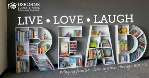 Usborne Books Live Love Laugh Read