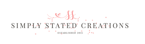 Simply Stated Creations LLC main logo