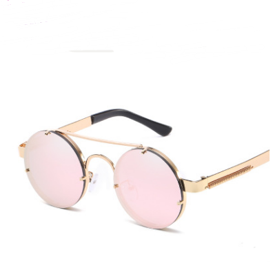 Vintage punk color film sunglasses