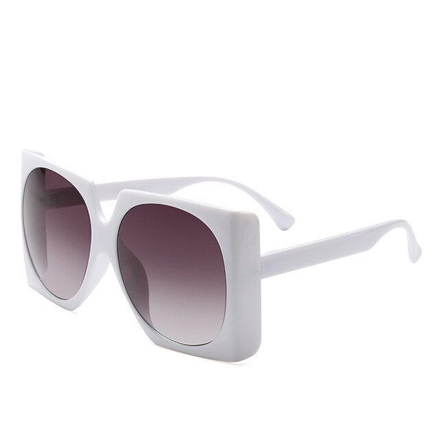 Women Luxury Brand Sunglasses Oversized Ladies Fashion Color Sunglasses Female 2018 Square Sun Glasses  UV400