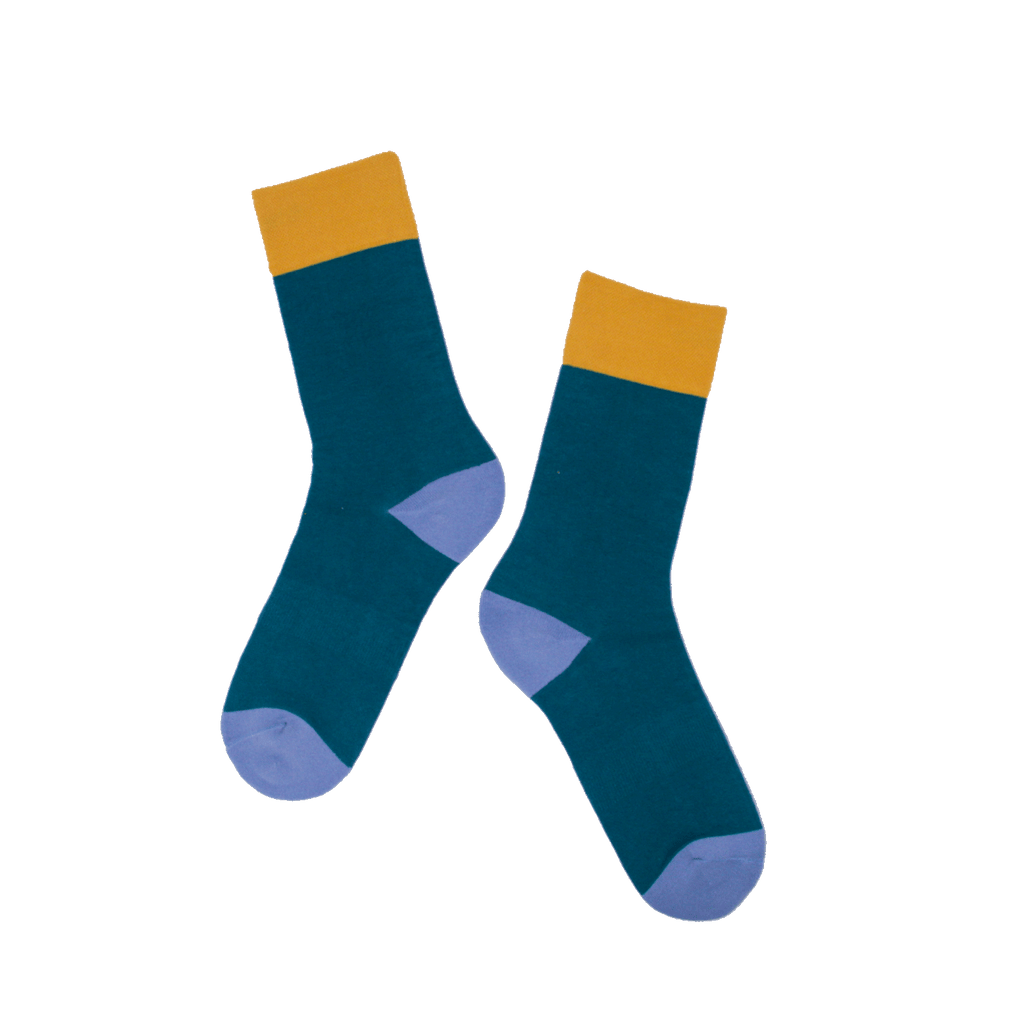 Oaktown Green Socks