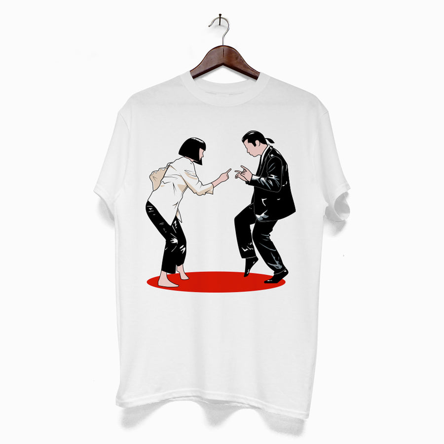 Polera -  Pulp Fiction Mia & Vincent
