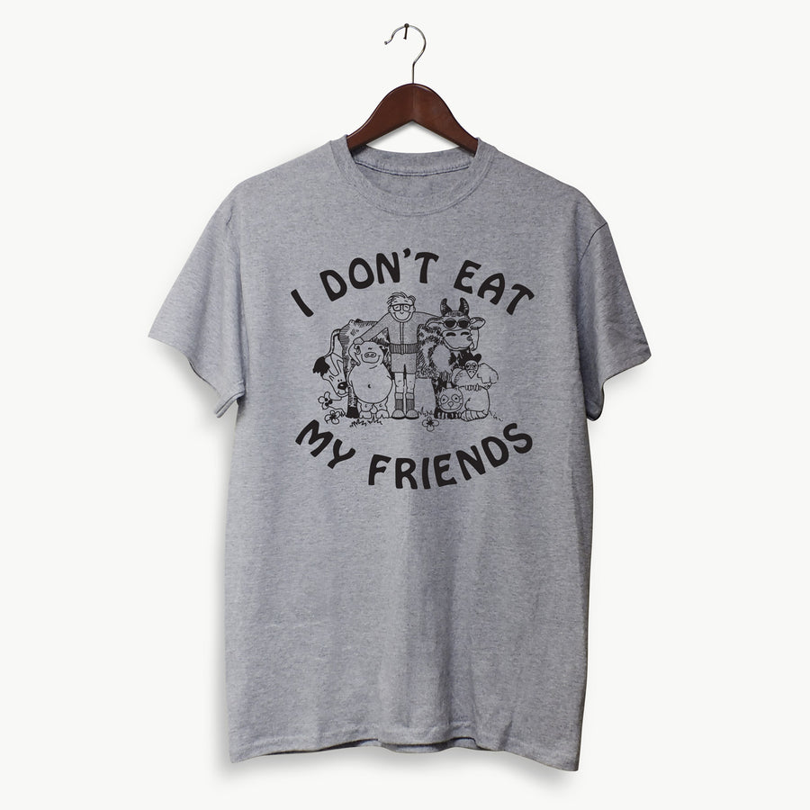 Polera Hombre - I don't eat my friends