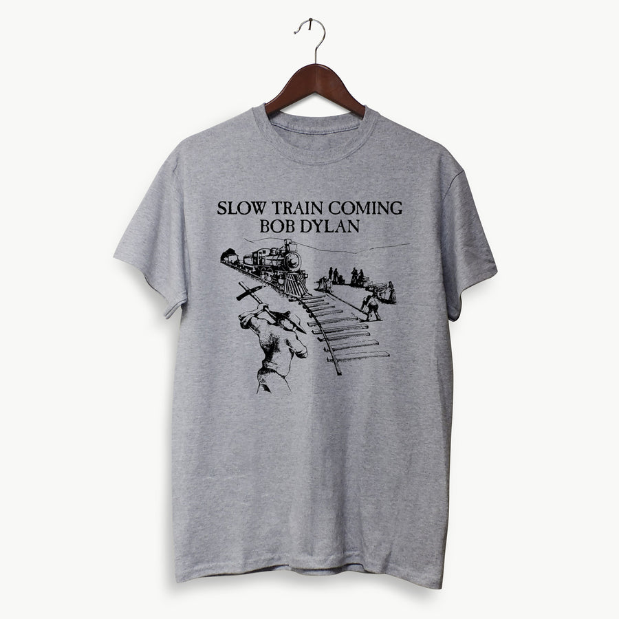 Polera Hombre -  Slow Train Coming - Bob Dylan
