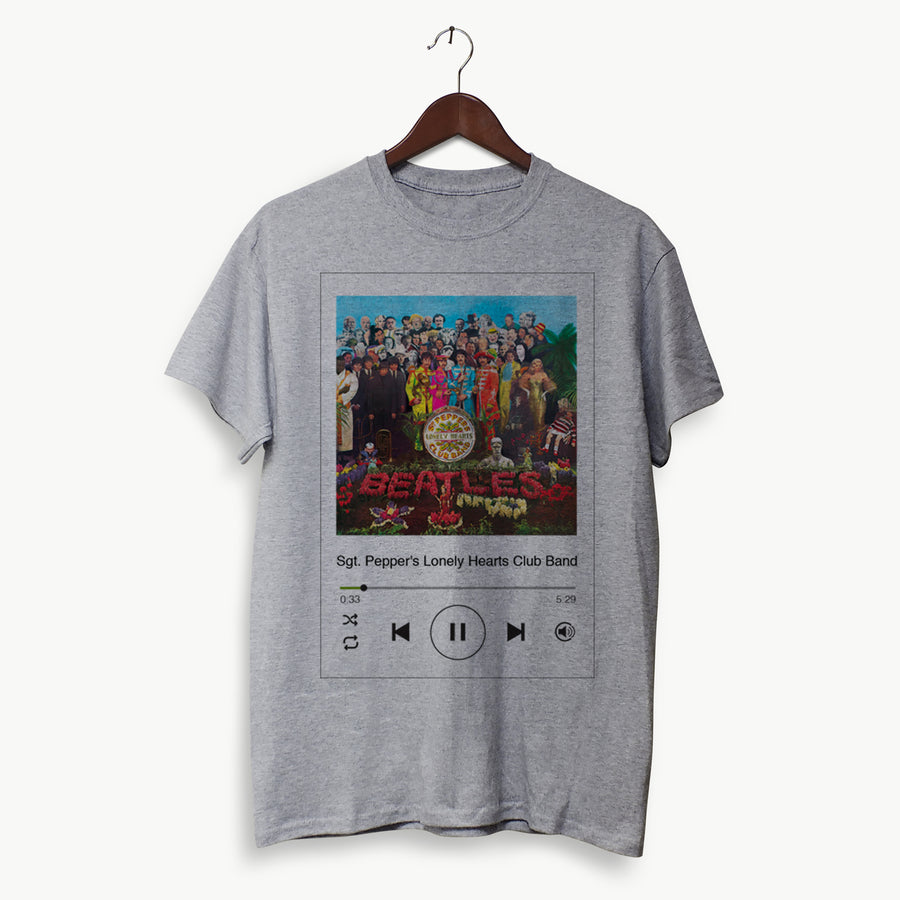 Polera Hombre - The Beatles Sgt. Pepper's Lonely Hearts Club Band