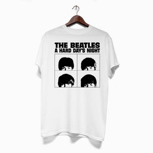 Polera Hombre - The Beatles  - A Hard Day's Night