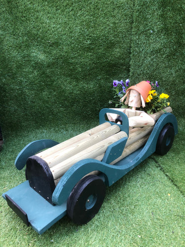 Wooden sports car