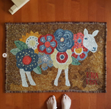 Flower Sheep Rug Kit