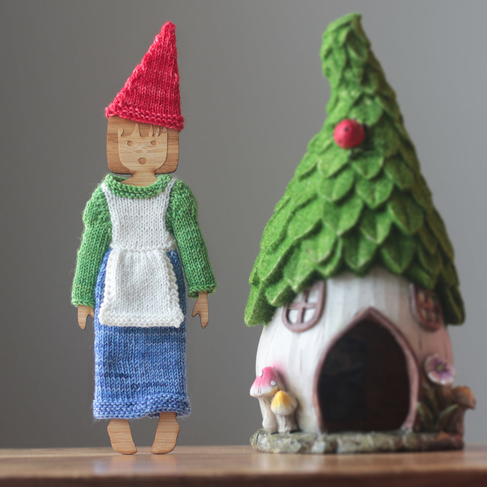 Betty Goes Gnome Knitting Pattern - Digital Download