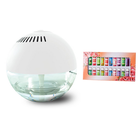 Globe Fresh Air Revitaliser & Purifier + 24 Free Essences
