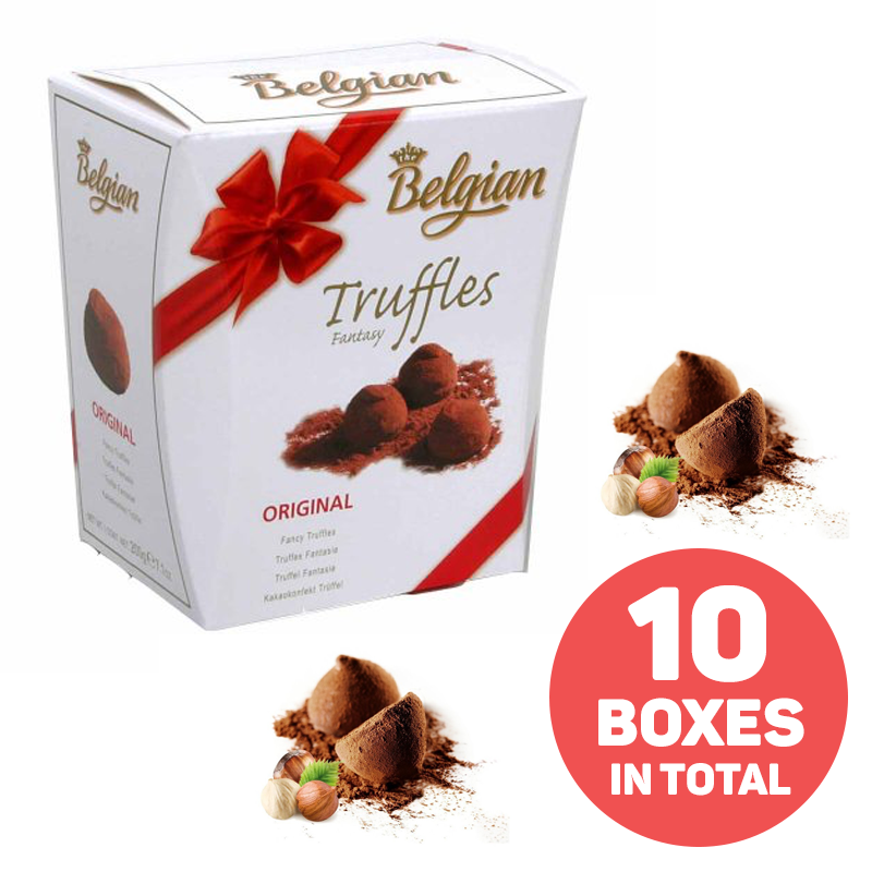5 Boxes of Belgian Famous Fancy Truffles - Buy One Get One Free
