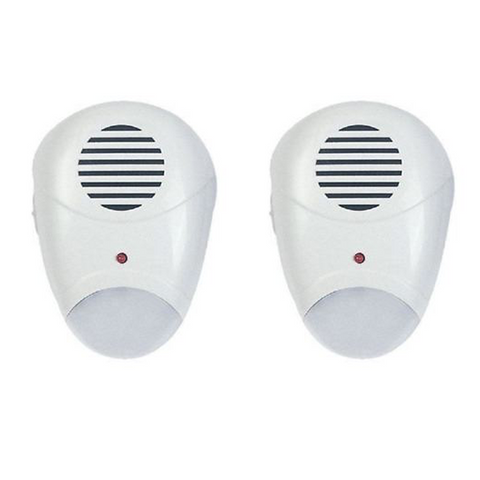 Plug In Pest Repeller with Night Light - Buy One Get One Free