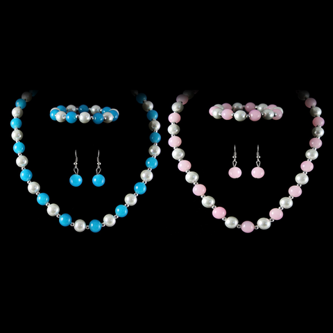 Venetti Pearl Effect Necklace, Bracelet & Earring Set