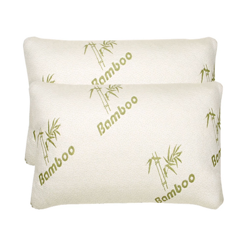 Luxury Bamboo Memory Foam Pillow - Buy One Get One Free