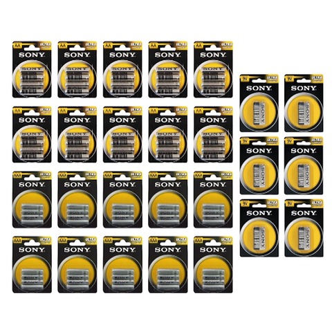 Ultimate Sony Ultra Heavy Duty Battery Bundle - Buy One Get One Free
