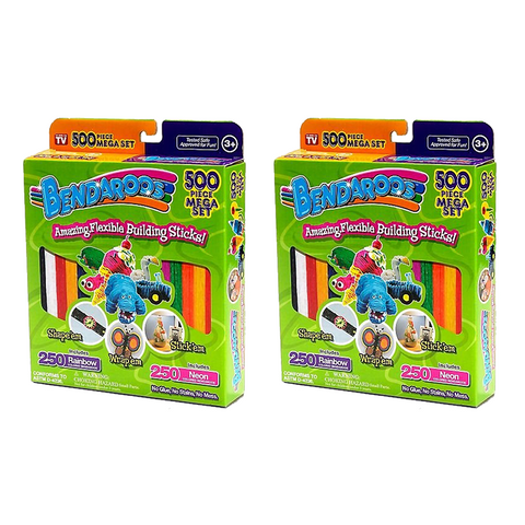 500pc Bendaroos Mega Kit - Buy One Get One Free