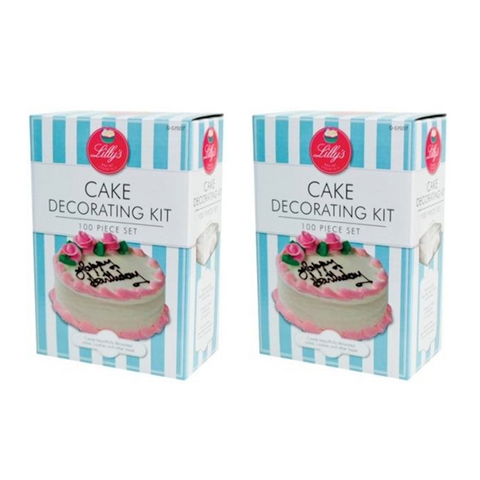 100pc Cake Decorating Set - Buy One Get One Free