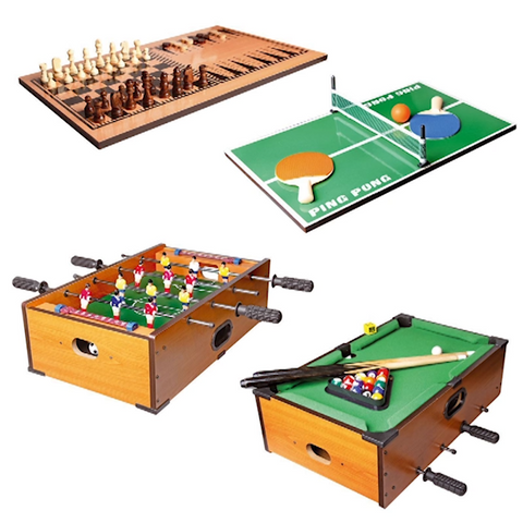 5 in 1 Deluxe Games Table - Free P&P