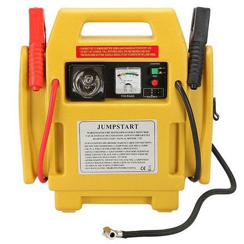 12V Heavy Duty Jump Start Kit with Air Compressor - Free P&P