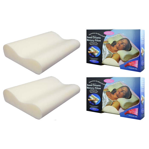 Memory Foam Comfort Pillow - Buy One Get One Free