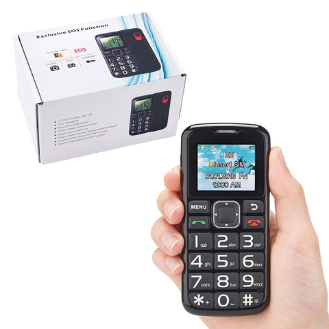 Big Button SOS Mobile Phone with Loudspeaker, FM Radio & Flashlight