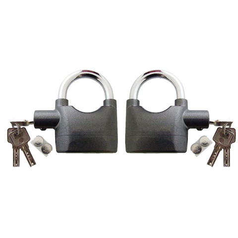 110db Motion Sensor Alarm Padlock with 3 Keys - Buy One Get One Free