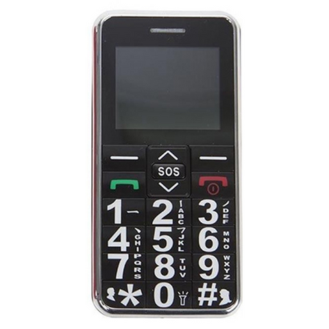 Big Digit Sim Free Mobile Phone with SOS Button