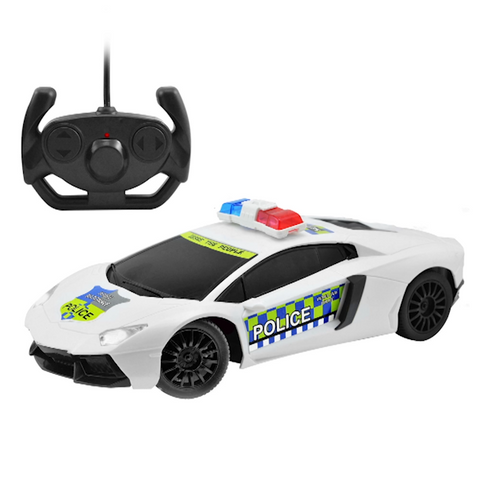 1:16 Remote Control Police Car with Siren
