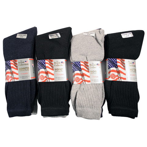 6 Pairs of Casual Cotton Sports Socks - Buy One Get One Free