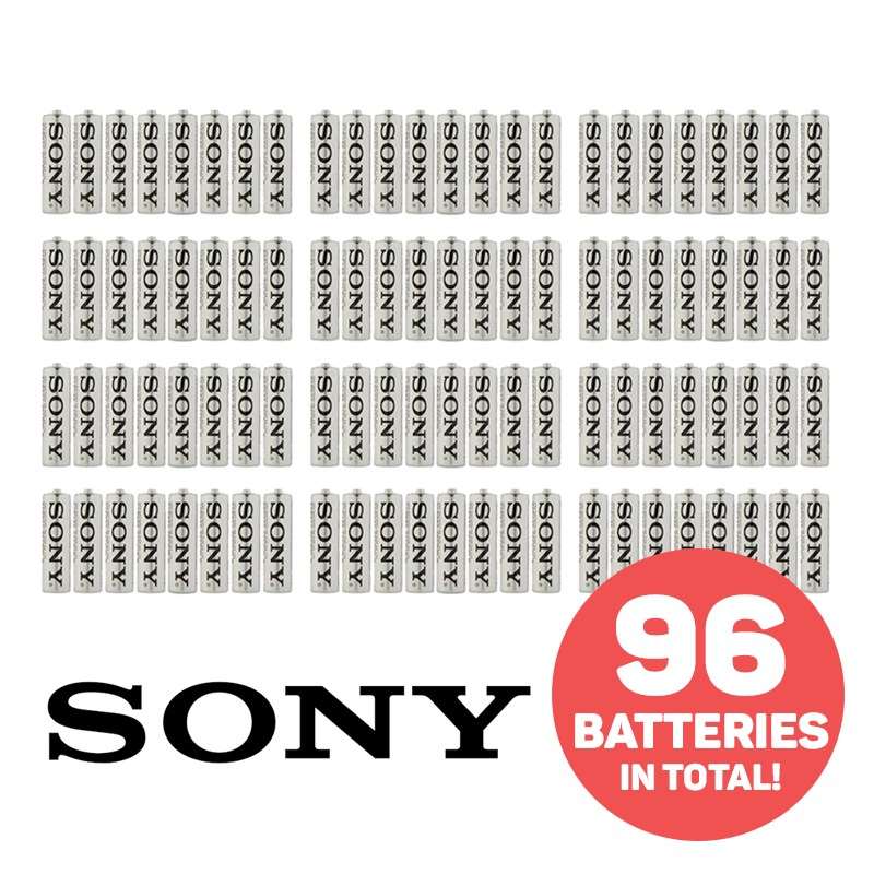 Pack of 48 Sony Ultra Heavy Duty Batteries - Buy One Get One Free
