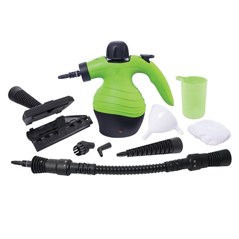 1000W Handheld Steam Cleaner with 9pc Accessory Kit