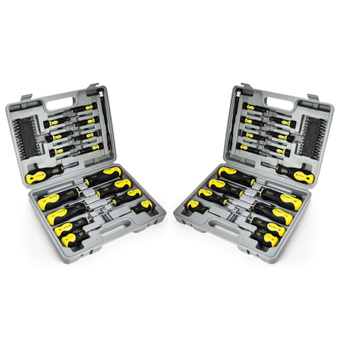 42pc Screwdriver Bit Set with Case - Buy One Get One Free
