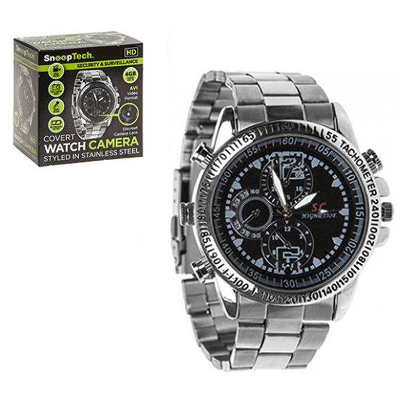 4GB Analogue Watch with Digital Video Recorder - FREE P&P