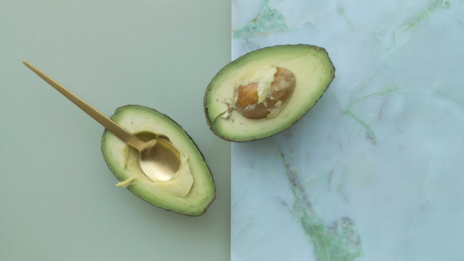 Avocado hydrating face mask