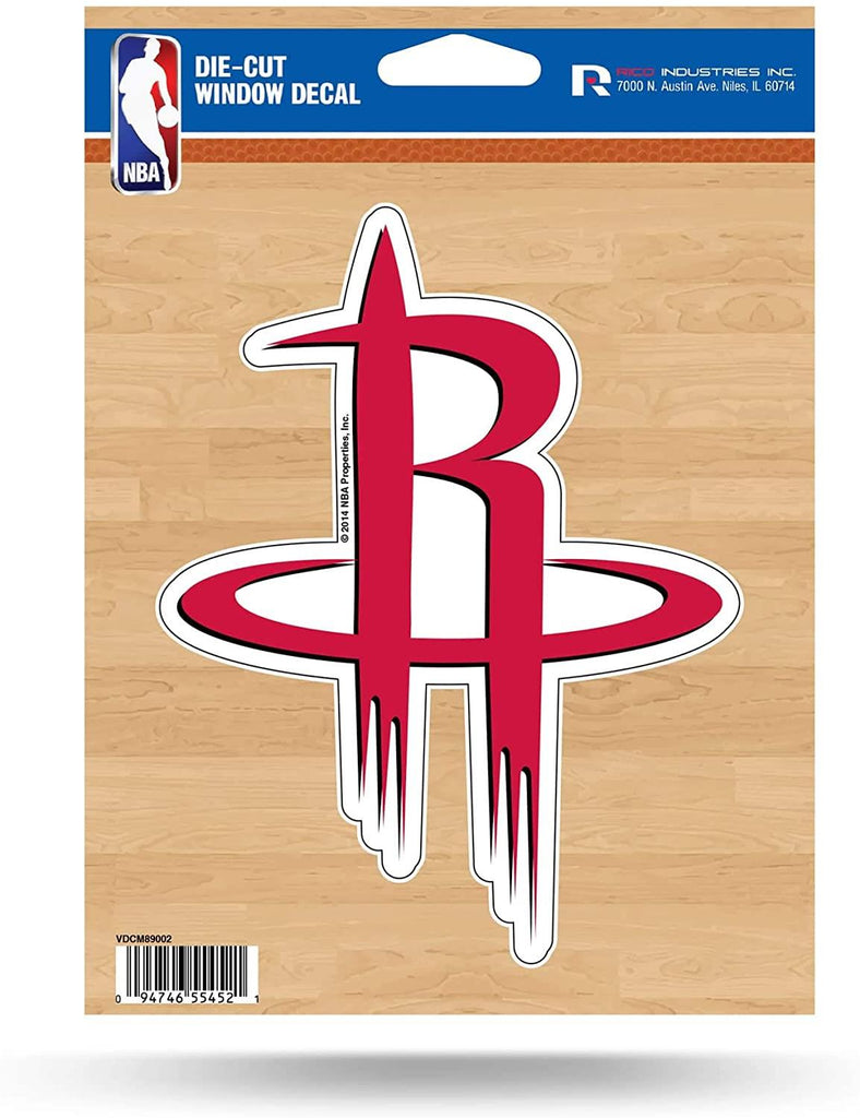 Rico NBA Houston Rockets Die Cut Auto Decal Car Sticker Medium VDCM