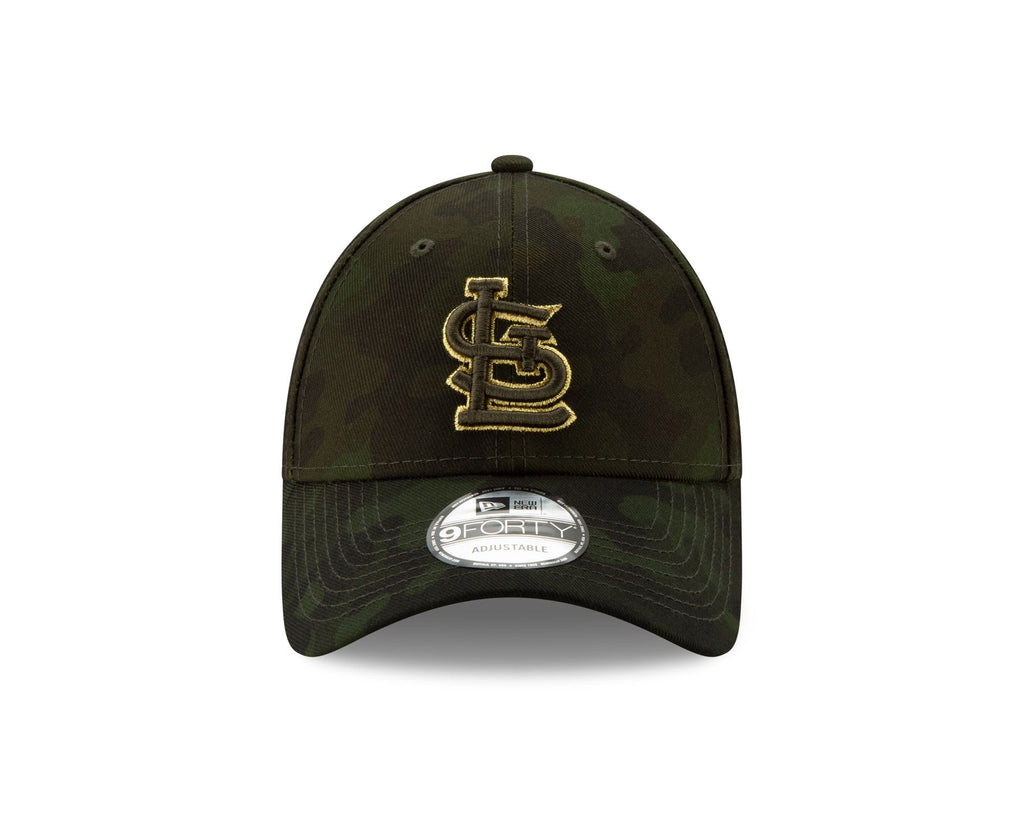 New Era MLB Men's St. Louis Cardinals Armed Forces Day On-Field 9FORTY Adjustable Hat