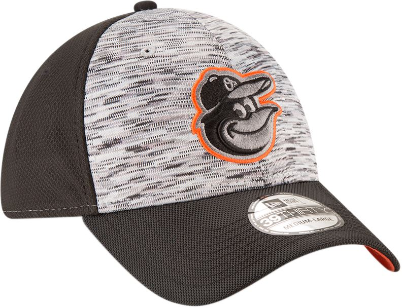 New Era MLB Men's Baltimore Orioles Shadow Faded 39Thirty Flex Fit Hat