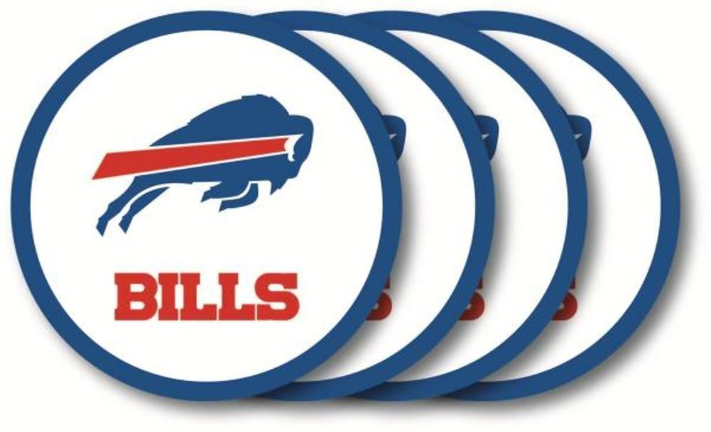 Duck House NFL Buffalo Bills Coaster Set 4-Pack