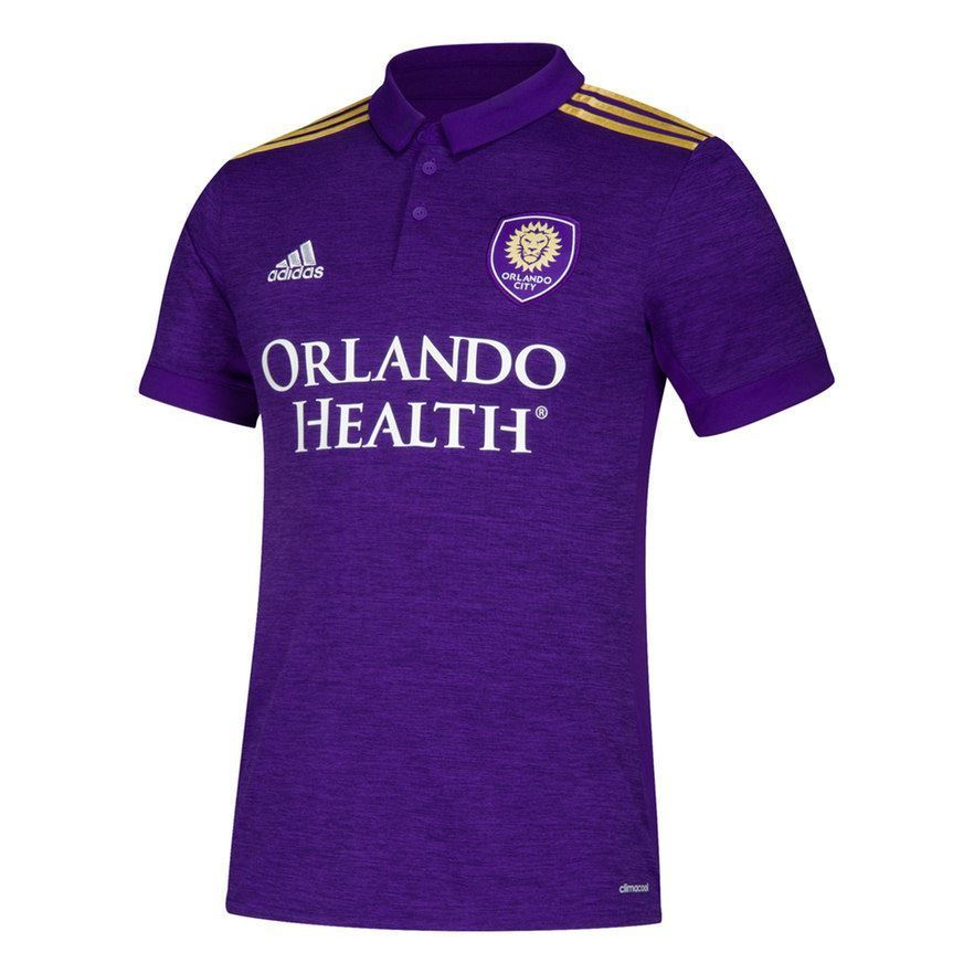 Adidas MLS Youth Orlando City Soccer Club Primary Replica Jersey