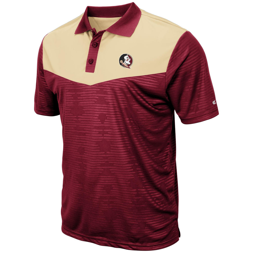 Colosseum NCAA Men's Florida State Seminoles Bart Polo