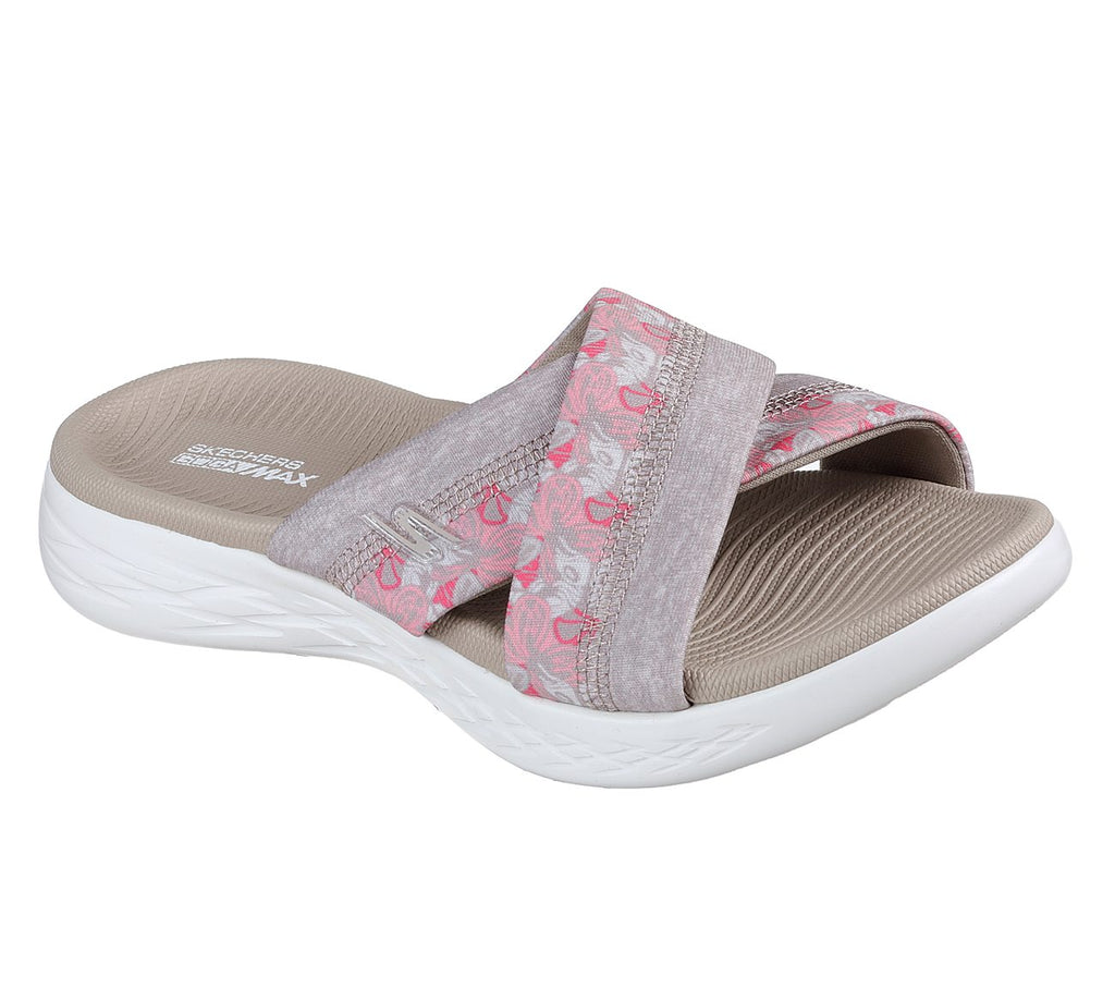 Skechers Performance Women's On The GO 600 Monarch Wide Fit Slide Sandals