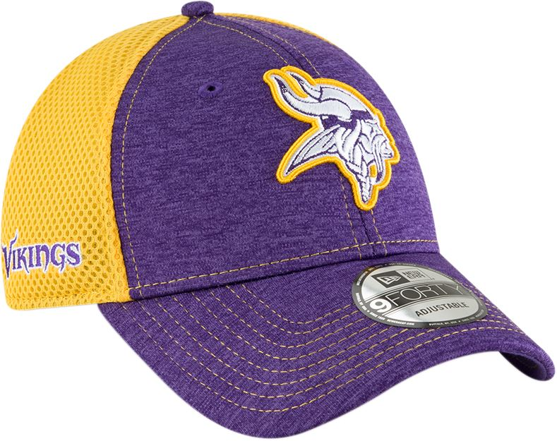 407819651f5ba ... sweden new era nfl mens minnesota vikings surge stitcher 9forty  adjustable hat 28fd6 9d6c2