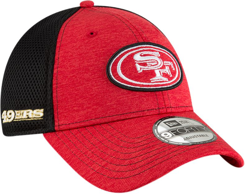hot sale online 1c97f c816f New Era NFL Men s San Francisco 49ers Surge Stitcher 9FORTY Adjustable Hat