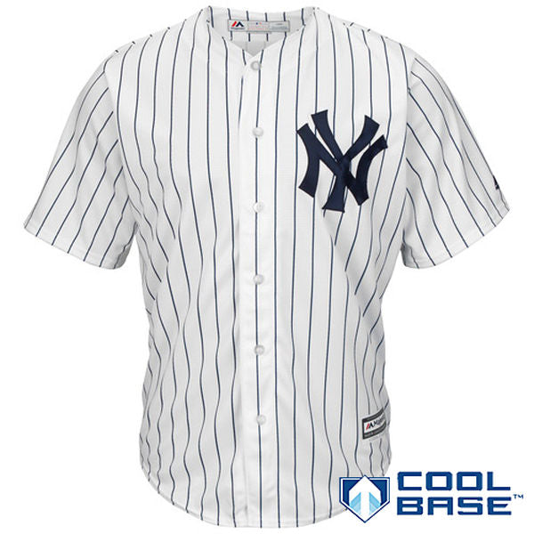 Majestic MLB Men's New York Yankees Replica Jersey