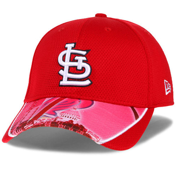 New Era MLB Men's St. Louis Cardinals Vista Vize 39THIRTY Performance Flex Fit Cap