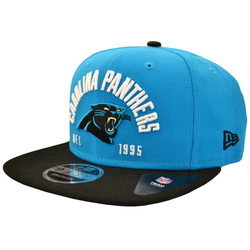 New Era NFL Men's Carolina Panthers Establisher 9FIFTY Snapback Cap
