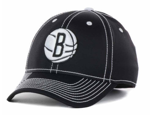 Adidas NBA Brooklyn Nets Structured Tactel Flex Hat