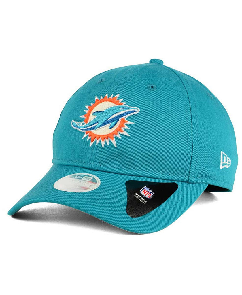 New Era Women's NFL Miami Dolphins Team Glisten 9TWENTY Adjustable Hat