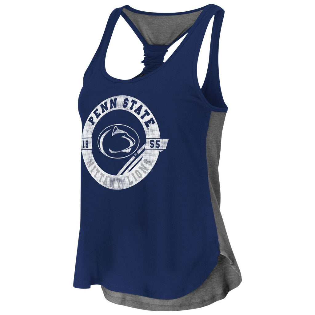 Colosseum NCAA Women's Penn State Nittany Lions Halo Twist Tank